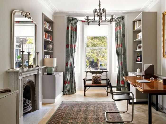 Интерьер домашнего офиса от Clare Gaskin