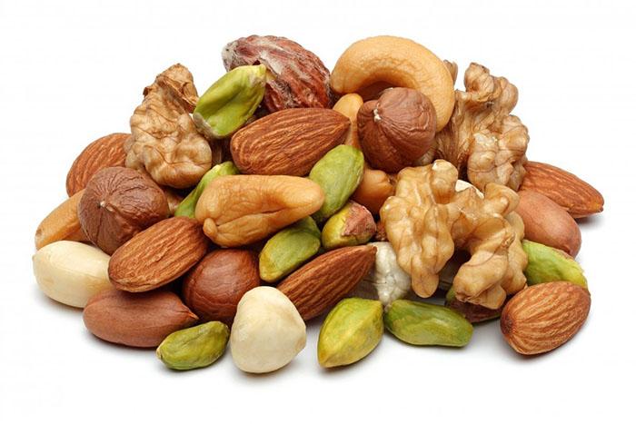 Орехи против батончиков