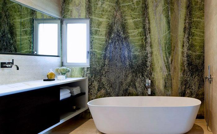 Интерьер ванной от Domb architects