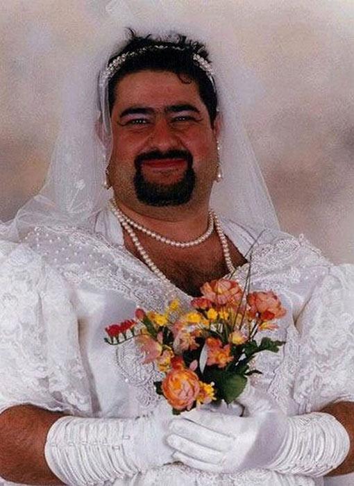 Свадебное платье бывшей супруги