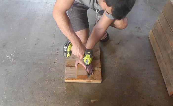 Сделать своими руками лавочку
