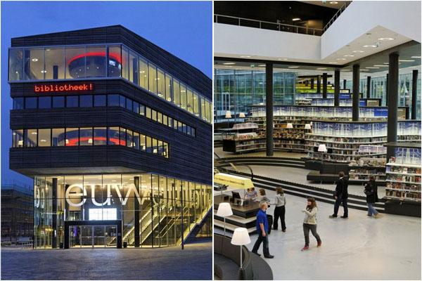 Библиотека в Альмере (Нидерланды)