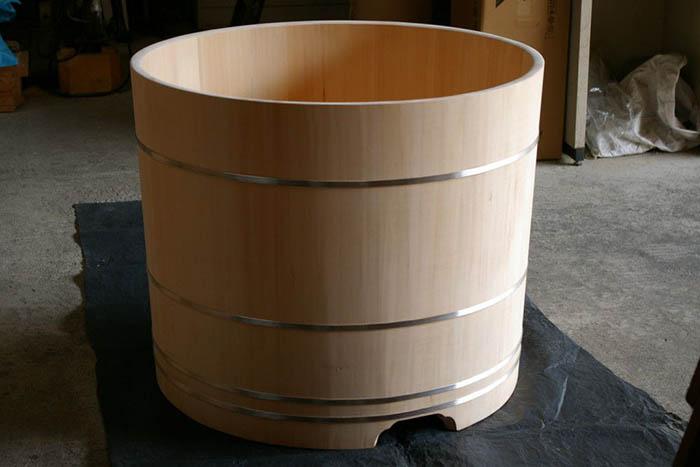 Традиционная ванна из кипарисовика от Bartok Design