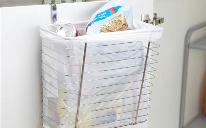 Навесная корзина для мусора