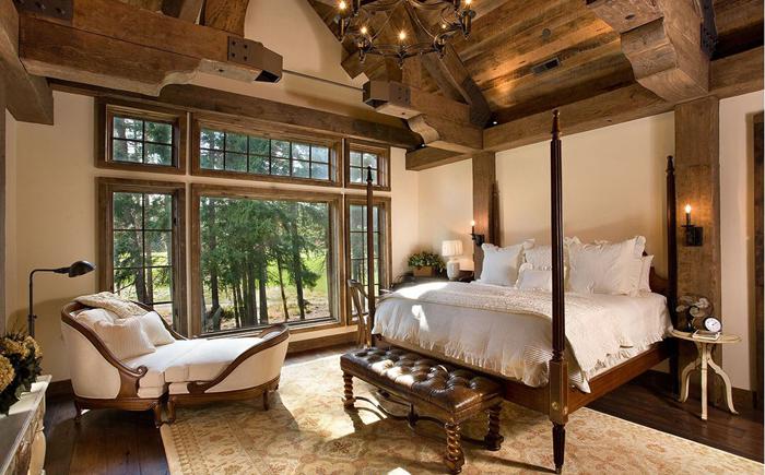 Секреты дизайна: обязательные элементы для спальни в рустикальном стиле