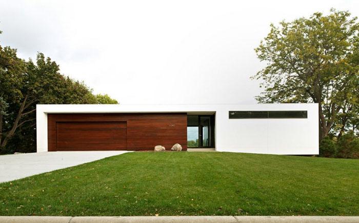 Дом в минималистском стиле