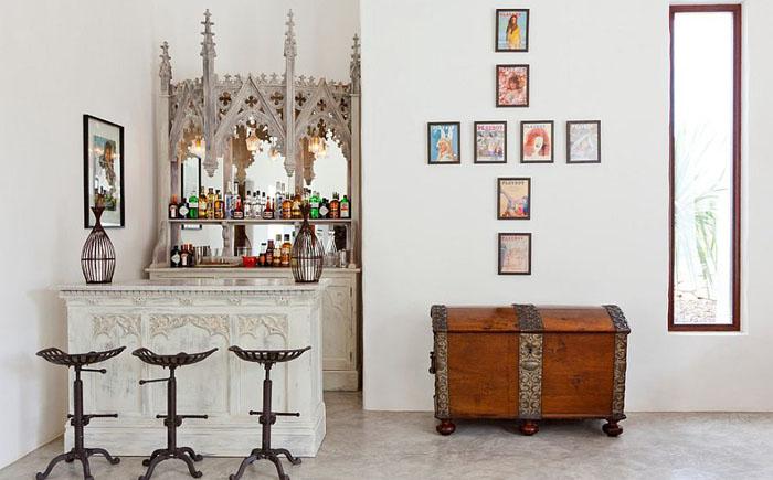 Домашний бар в испанском стиле