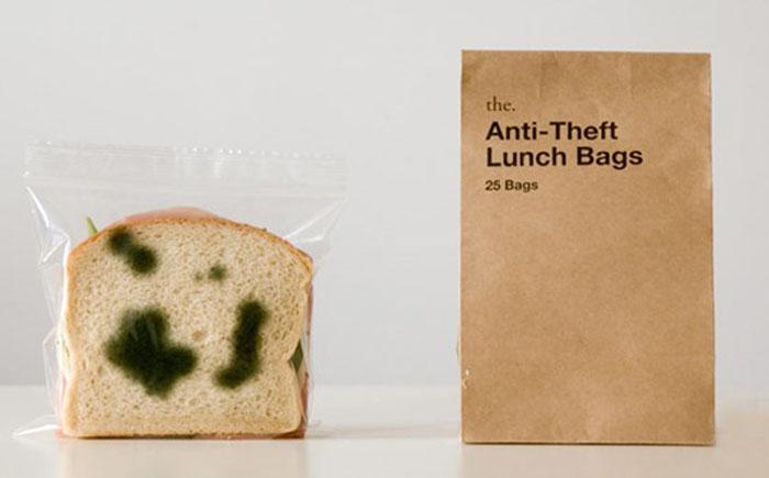Антиугонная упаковка для бутербродов