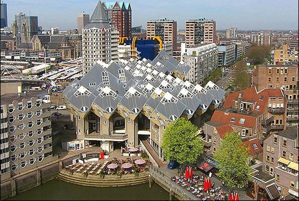 Кубические дома, Роттердам (Голландия)
