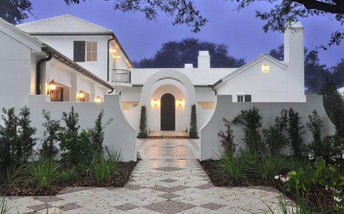 Белый дом от  Solstice Architects