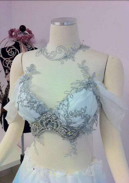 Свадебное платье для исполнительниц танца живота  от Джо Эллен Элам