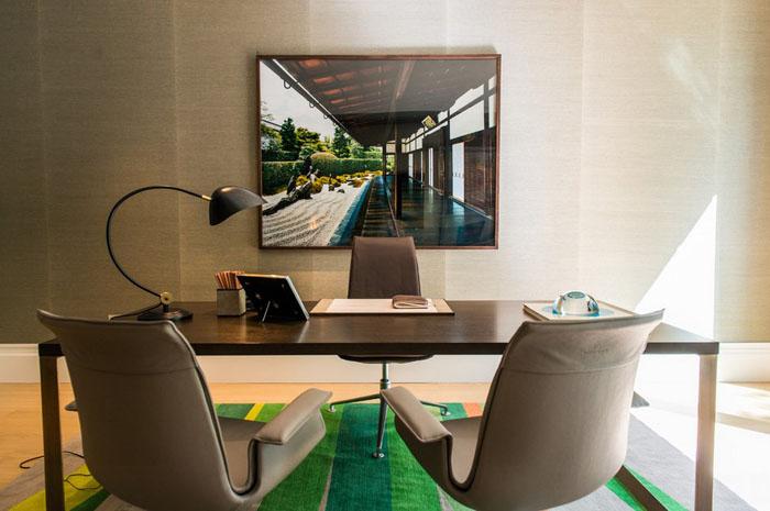 Интерьер домашнего офиса от  Nash Baker Architects