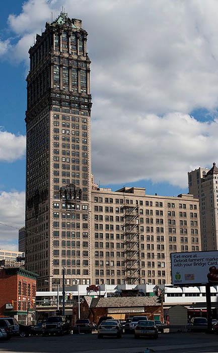 Заброшенная башня Бука, Детройт, США