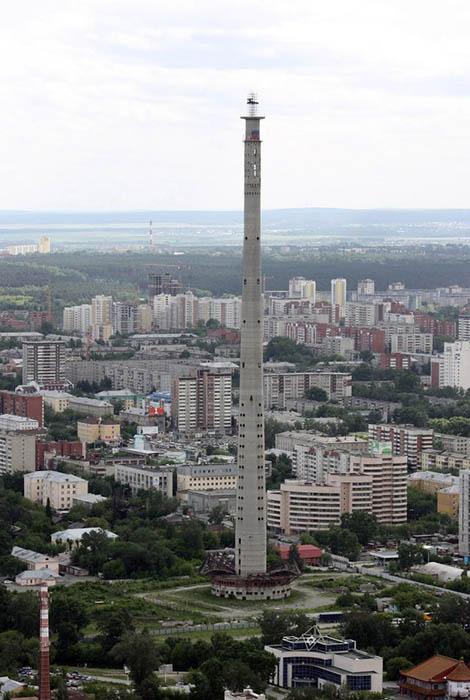 Екатеринбургская телевизионная башня, Россия