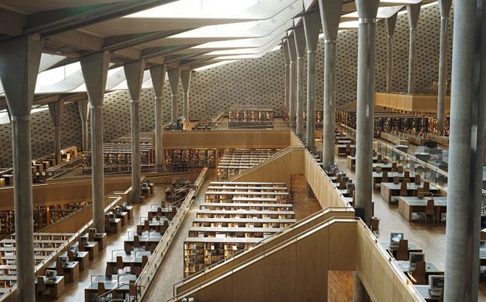 Библиотека Александрина– Александрия, Египет