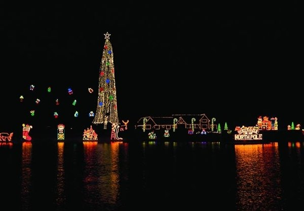 Рождественская елка Кер-д'Ален (Айдахо)