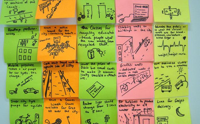 Самоклеющиеся листочки для записок