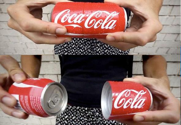 Двойная банка Кока-Колы