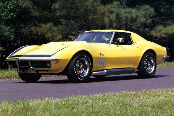 Шевроле 1969 года Corvette ZL-1