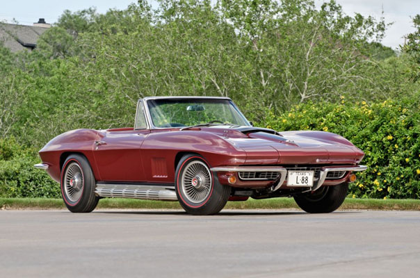 Шевроле 1967 года Corvette L88
