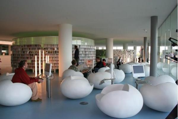 Общественная библиотека Амстердама, Голландия