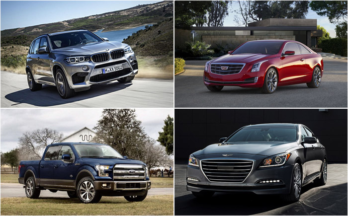 10 удачных моделей на автомобильном рынке в 2015 году