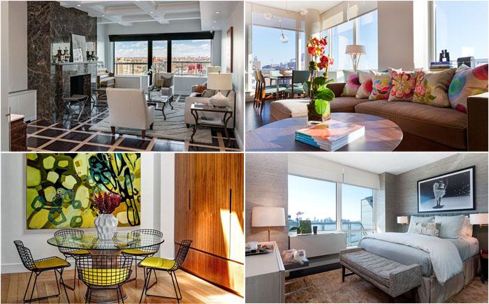 Жизнь в Нью-Йорке: потрясающие квартиры и дома