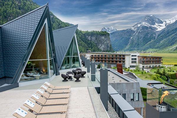 Вид на Альпы