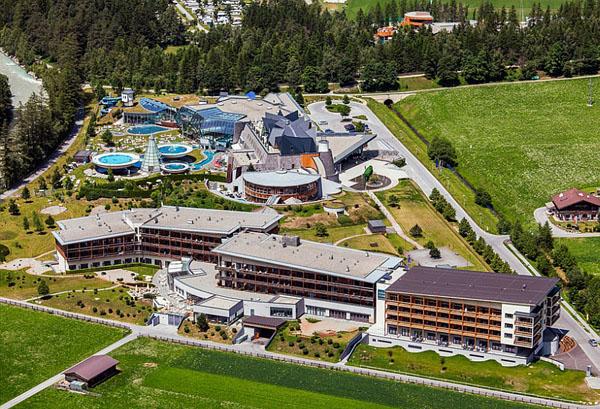 Термальный курорт Aqua Dome Thermal Resort в Австрии