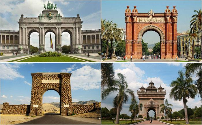 10 самых удивительных арок, памятников триумфа архитектуры и искусства