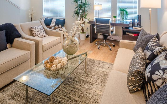 Как отделить домашний офис от зоны отдыха