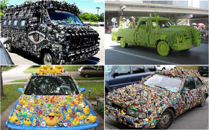 10 самых невероятных художеств на автомобилях