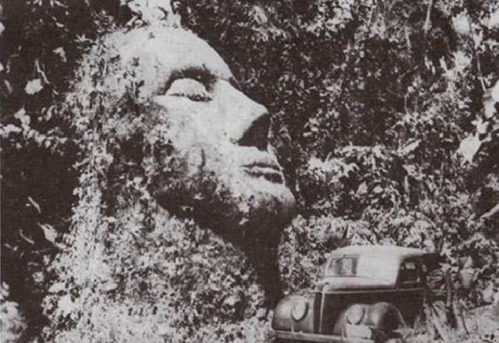 Каменная голова, Гватемала