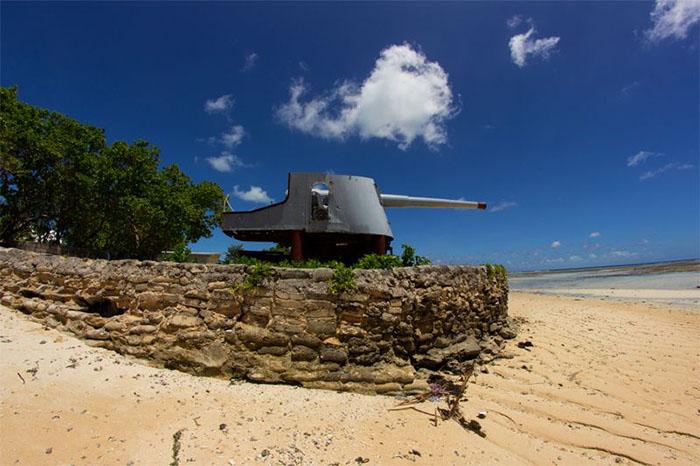 Заброшенные артиллеристские батареи Кирибати (Кирибати)