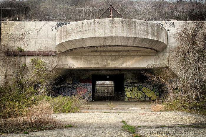 Форт Тилден, заброшенная артиллерийская батарея (Куинс, США)