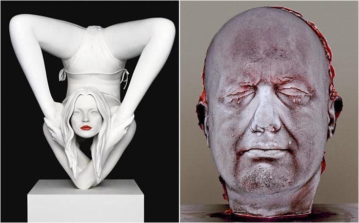 Марк Куинн – скульптура из крови