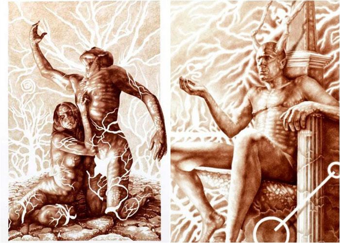 Винсент Кастилья – картины, написанные кровью