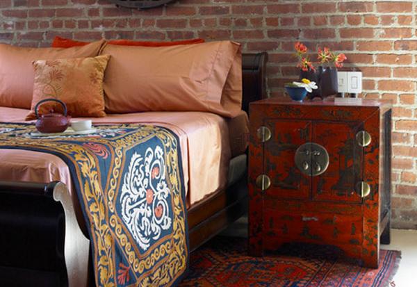 Интерьер спальни от Amy Lau Design