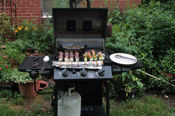 Мангал Char-Griller 3001 Grillin' Pro: жидкий газ пропан