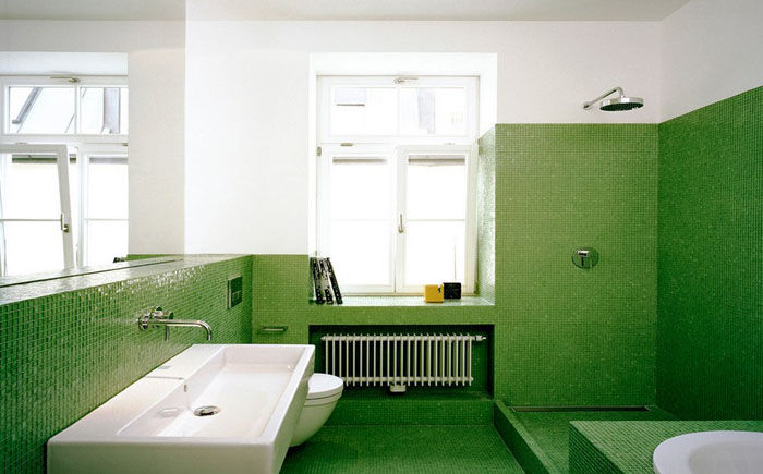 Интерьер ванной комнаты от Matthias Bjørnsen I Architekt