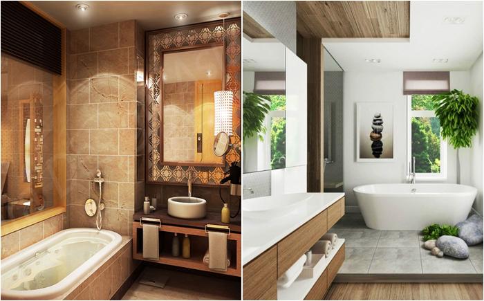 Современный дизайн ванной комнаты 2016 фото новинки