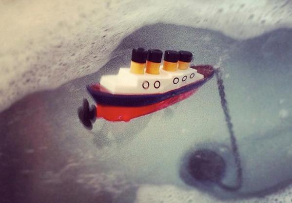 Пробка для ванны Титаник