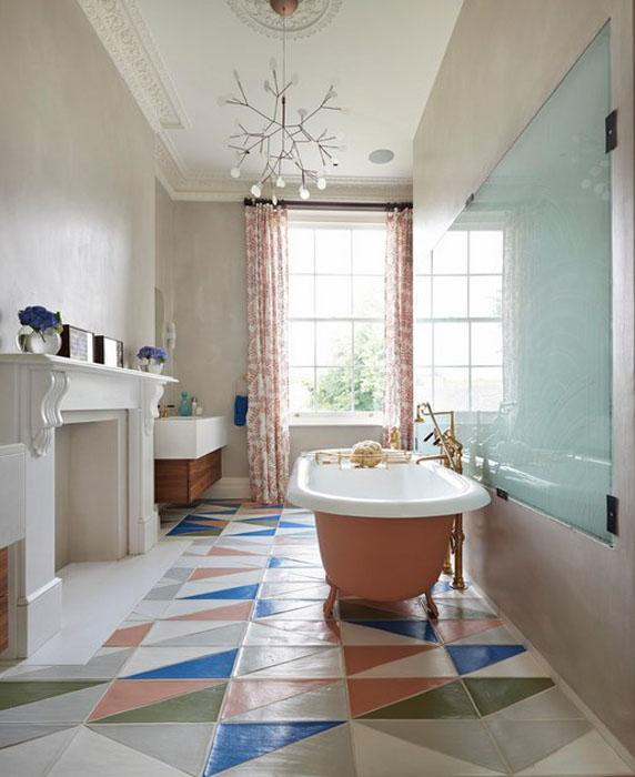 Интерьер ванной от Drummonds Bathrooms