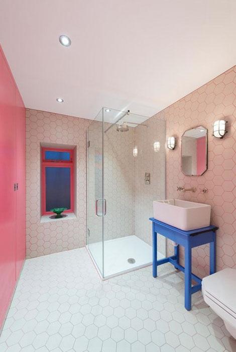 интерьер ванной от Alexander Owen Architecture