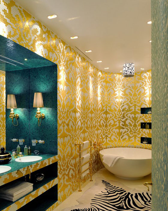 Интерьер ванной от Christophe Perichon
