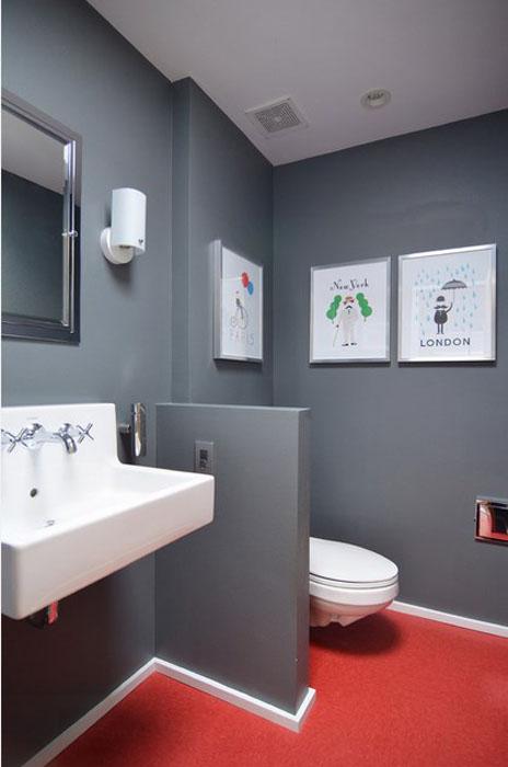 Интерьер ванной от Sarah Greenman