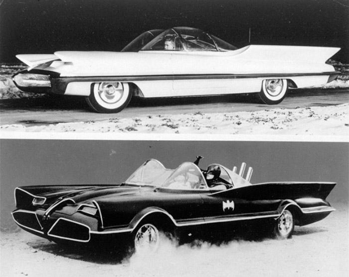 Первый автомобиль Бэтмена