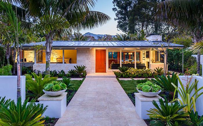 Пляжный домик «Бабочка»: очаровательное ранчо в стиле 50-х