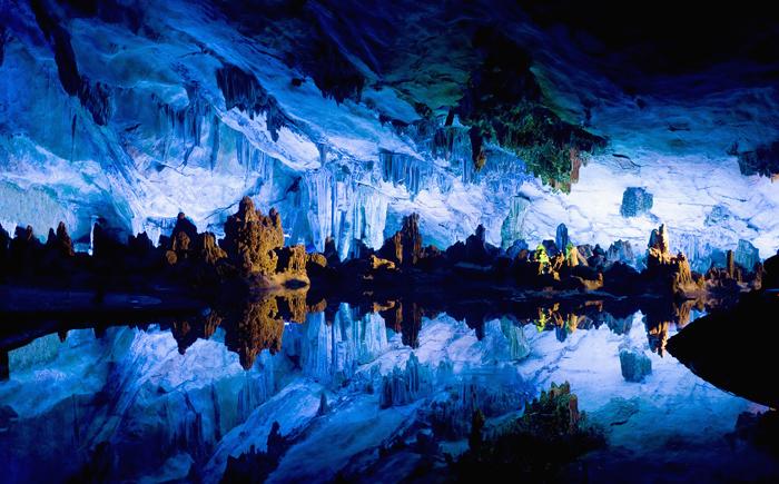 Пещера Рид Флут, Китая