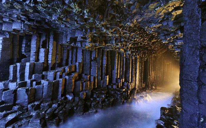 Пещера Фингала, Шотландия